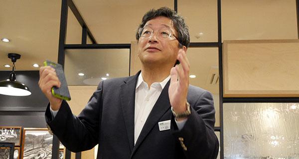 ジェイアール東日本フードビジネス株式会社 代表取締役社長 山際 貞史氏