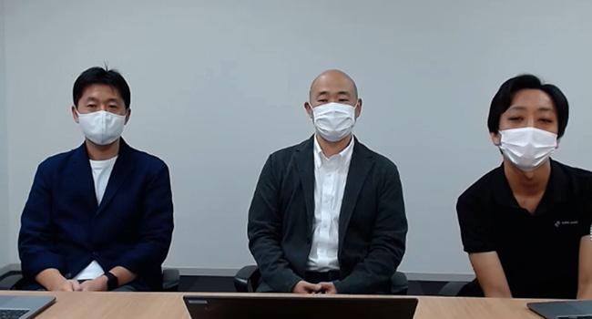 須賀 久彌氏、野村 和生氏、武藤 孝之氏