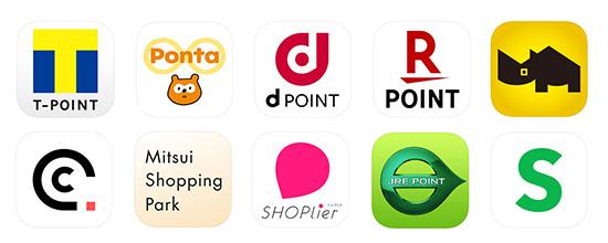共通ポイントカードアプリ